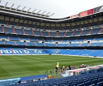 Santiago Bernabéu mieści ponad 85 tysięcy kibiców