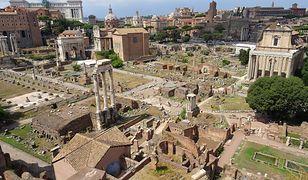 Forum Romanum było kiedyś głównym rynkiem Wiecznego Miasta