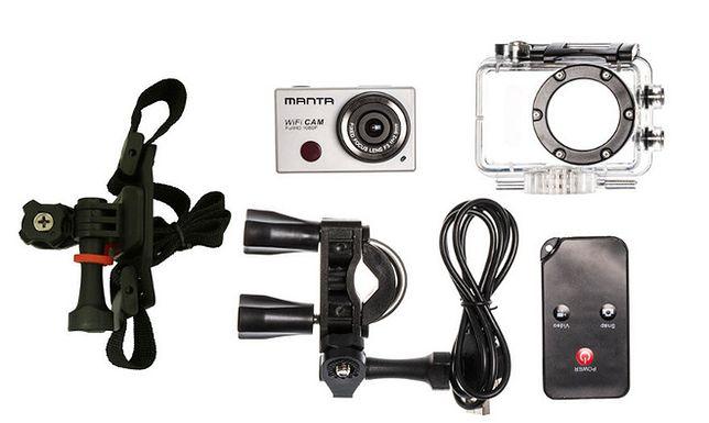 Sportowa kamera Manty: MM336
