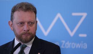 Koronawirus w Polsce. Wiceminister sprawiedliwości Michał Wójcik broni Łukasza Szumowskiego