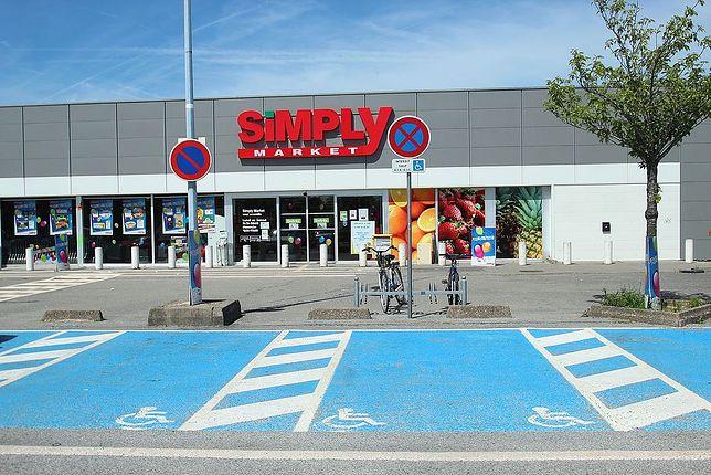 Sklep sieci Simply Market zlokalizowane są głównie na południu Polski