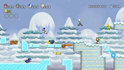 Mario zjadł całą moc Wii