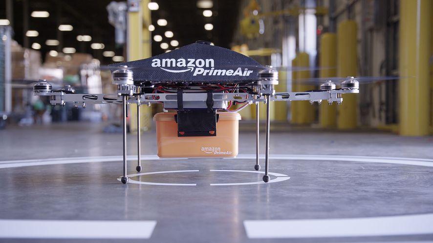Amazon Prime Air, czyli jak w przyszłości paczki dostarczą nam drony