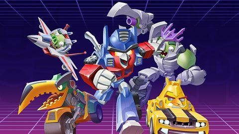 Wściekłe ptaki zmieniają się w Transformersy na Androidzie