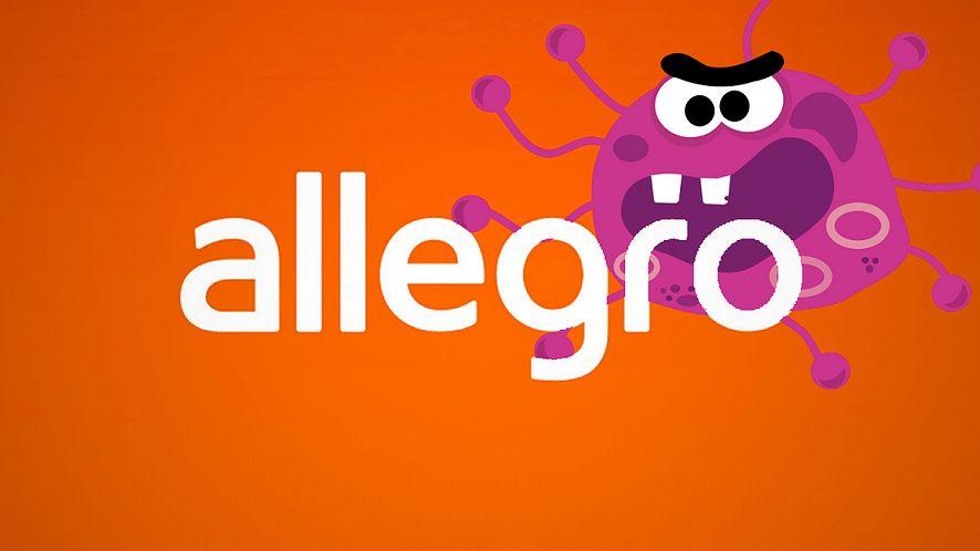 Allegro i zainfekowane reklamy – uwaga na linki w Google!