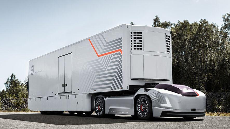 Przyszłość transportu autonomicznego jest bliżej, niż się wydaje? (fot. Volvo)