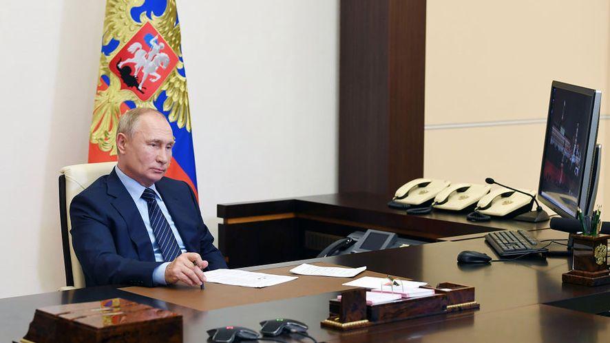 Prezydent Rosji Władimir Putin (Getty Images)