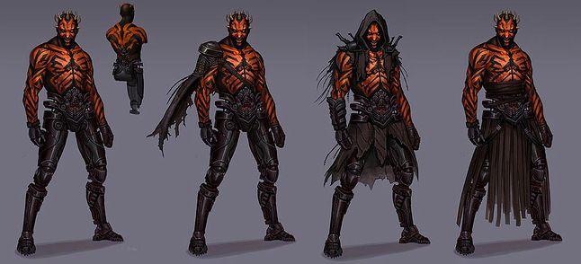 Darth Maul z niewydanej gry (źródło: Game Informer)