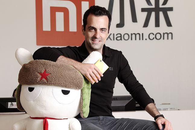 Hugo Barra - wiceprezydent Xiaomi