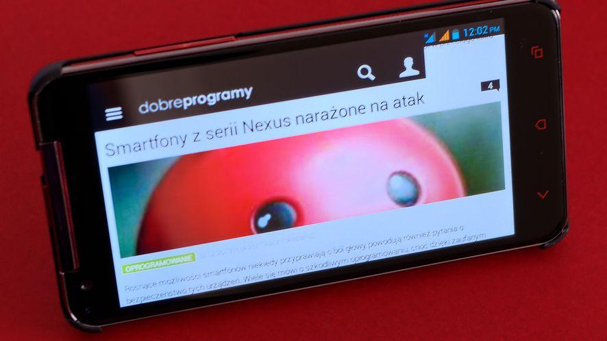 Smartfon Quad Titan MS5001 — lepsze oblicze Manty