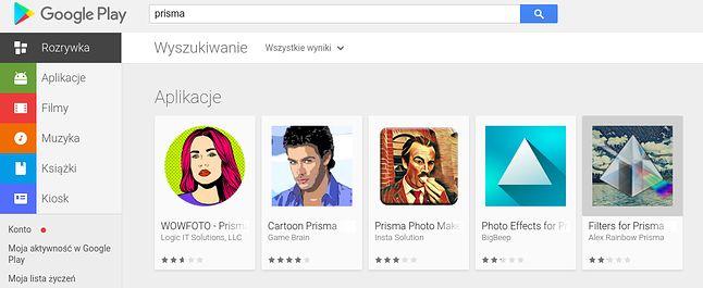 Wszystko, tylko nie Prisma: Google naprawdę musi dopracować swoją wyszukiwarkę