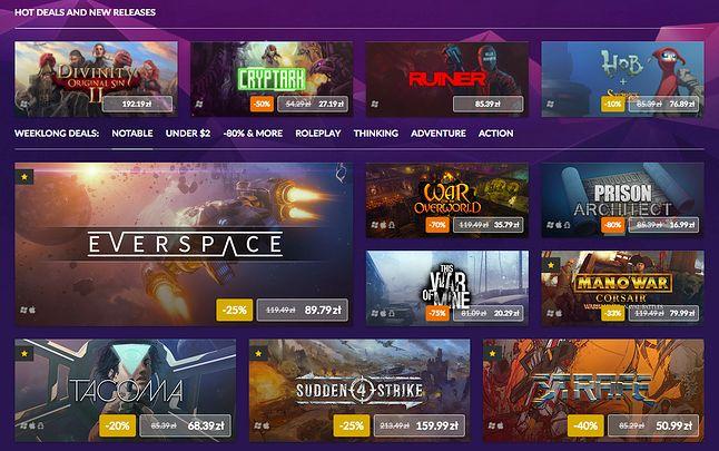 Lista ponad 200 gier objętych Big Deals Sale dostępna jest na GOG.com.