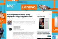 Przetestuj sprzęt od Lenovo, druga grupa blogerów wytypowana!