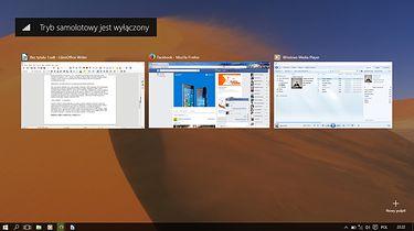 Windows 10- Opinie po trzech miesiącach - Widok Zadań powinnien być już conajmniej w XP