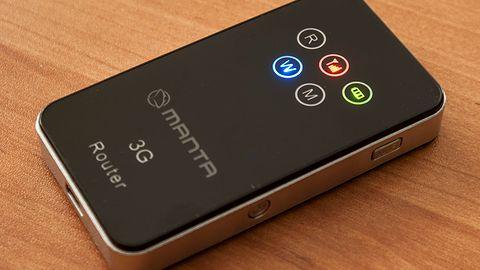 Manta MWR01 - bezprzewodowy modem 3G i router WiFi