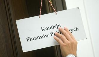 Komisja Finansów dwa razy przyjęła tę samą poprawkę. Pośpiech i naruszenie Konstytucji