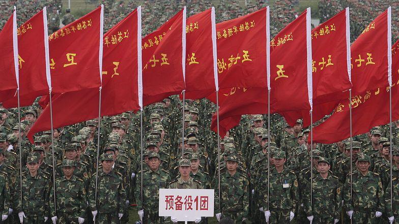 Chińska Armia Ludowo-Wyzwoleńcza jest najbardziej liczebną siłą wojskową na świecie.