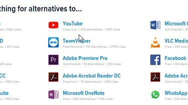 Alternatywa — gdzie szukać dobrego i darmowego oprogramowania?  - Najczęściej szukamy alternatyw dla tych programów.