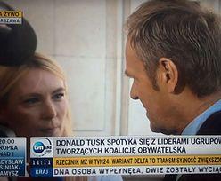"""Awantura Tuska z dziennikarką TVP. """"Dojdzie do strasznych rzeczy"""""""