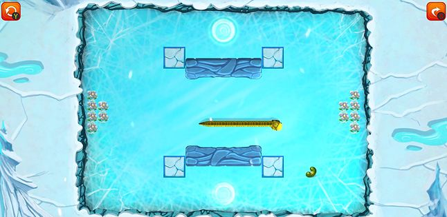 Kraina lodowa w Classic Snake Adventures, fot. Crazysoft