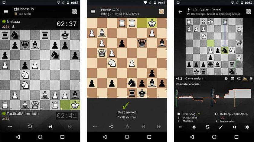Aplikacje szachowe na Androida i iOS — odsłona trzecia