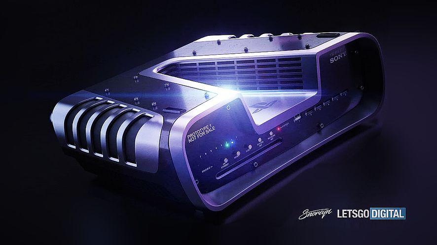 Grafika koncepcyjna PlayStation 5, fot. Snoreyn/LetsGoDigital