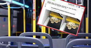 Zdjęcie z polskiego autobusu. Przysłała je mieszkanka dużego miasta
