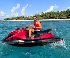 Polski siatkarz wypoczywa na Malediwach. Ostatnie wakacje przed igrzyskami