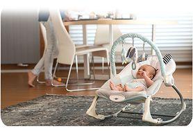 Leżaczek bujaczek - dla dziecka i rodzica