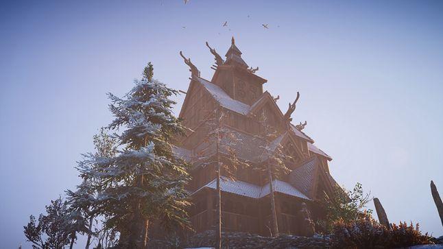 Świątyń tego typu w norweskiej części gry można spotkać często. I każda się wyróżnia