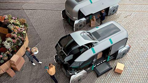 Renault EZ-PRO ma zastąpić kurierów. Oto dobra zmiana w dostarczaniu paczek