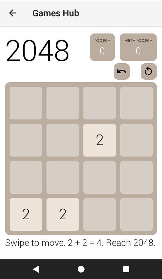 Miły akcent w aplikacji - gra 2048. Nie trzeba instalować ;)