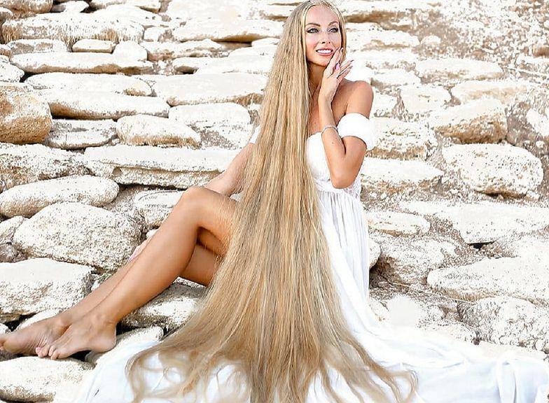 Prawdziwa Roszpunka. Nie obcinała włosów od 5 roku życia