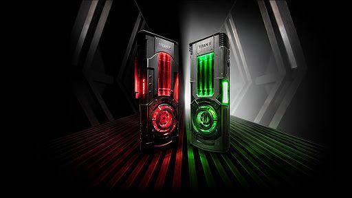 Titan Xp Star Wars Collectors Edition, fot. Materiały prasowe