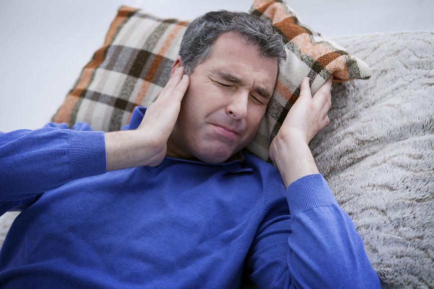 Kompres na bolące ucho