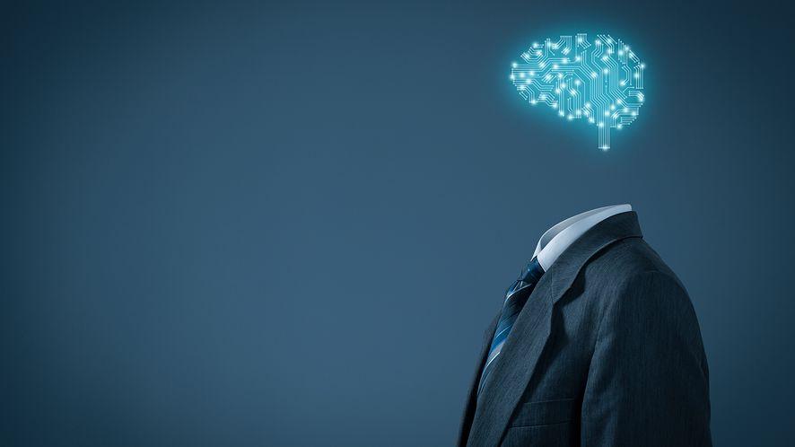 Koncepcja sztucznej inteligencji z depositphotos