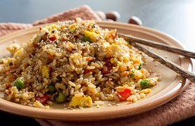 Ryż z warzywami - przygotowanie, ryż z warzywami i krewetkami