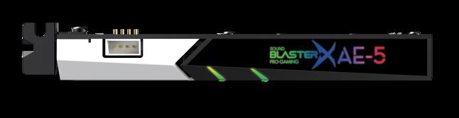 Creative Sound BlasterX AE-5 Plus Pure Edition, fot. materiały prasowe.