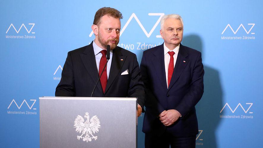 Uwaga na fałszywą stronę Ministerstwa Zdrowia, fot. Piotr Molecki/East News