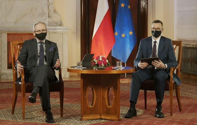 Q&A Morawieckiego i Niedzielskiego. Premier zapowiada co z Sylwestrem
