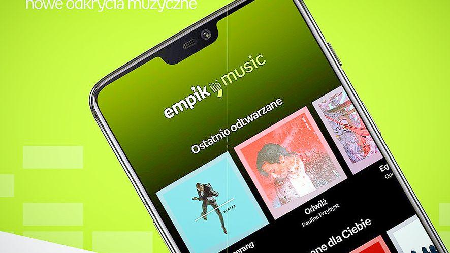Empik od teraz stał się konkurentem Spotify, fot. Empik