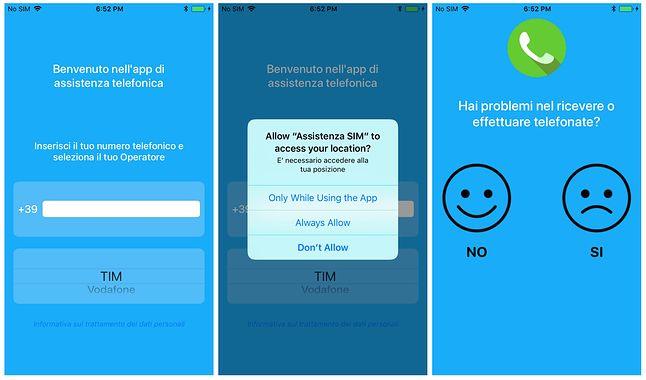 Szkodliwa aplikacja na iOS-a, źródło: TechCrunch.