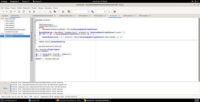 PowerShell na Linuksa to dobry pomysł, jeżeli pracujemy ze skryptem dostarczającym trojana dla Windowsa (fot. Kamil Dudek)