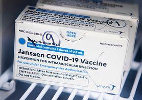 Chcą wstrzymania szczepień przeciwko COVID preparatem Johnson&Johnson. Przypadki zakrzepic
