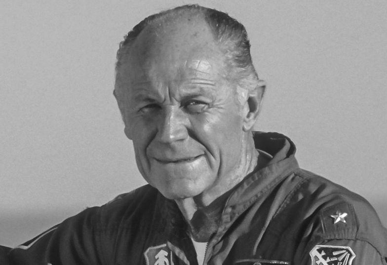 """Śmierć legendy. Nie żyje Chuck Yeager, """"najszybszy człowiek na Ziemi"""""""