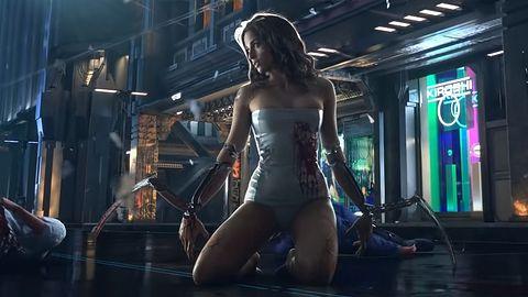 Dziewczyna z teasera Cyberpunka 2077 odnaleziona