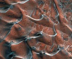 Mroźne wydmy nie z tego świata. NASA ujawnia niesamowite zdjęcie
