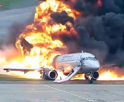Pokazali nagranie. Samolot zapalił się po lądowaniu. Rosjanie oskarżają pilota