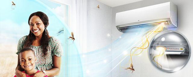 LG Anti Mosquito - klimatyzator, który odstrasza komary
