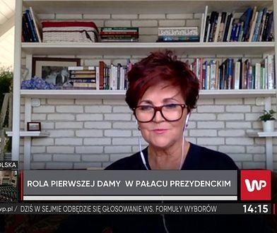 Jolanta Kwaśniewska o kandydatkach na pierwszą damę. Mówi, co ma znaczenie
